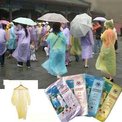 disposable adult emergency waterproof rain coat poncho