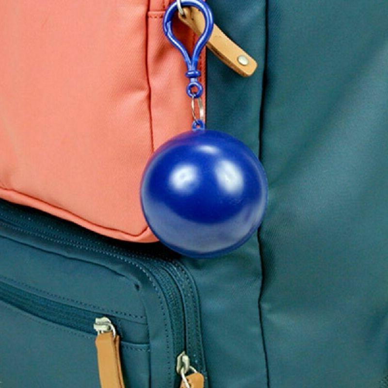 Disposable Waterproof Keyring Ball Coat New