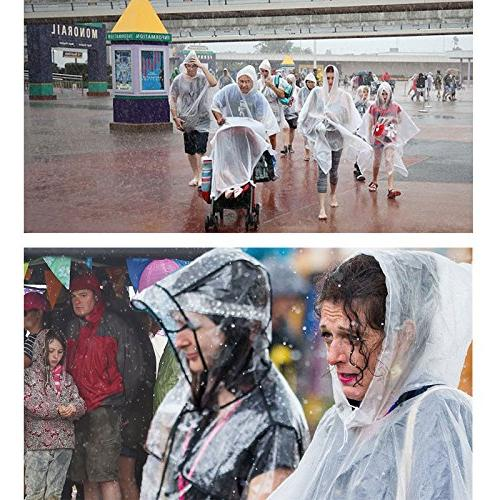 Opret Poncho, Emergency Raincoat with Hood Women of