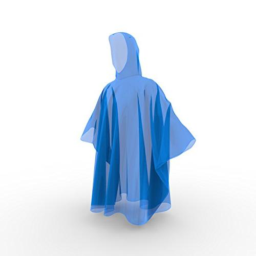 Hagon PRO Rain Ponchos Quality Thicker 100% Emergency Ponchos for Concerts, Amusement Parks, Camping