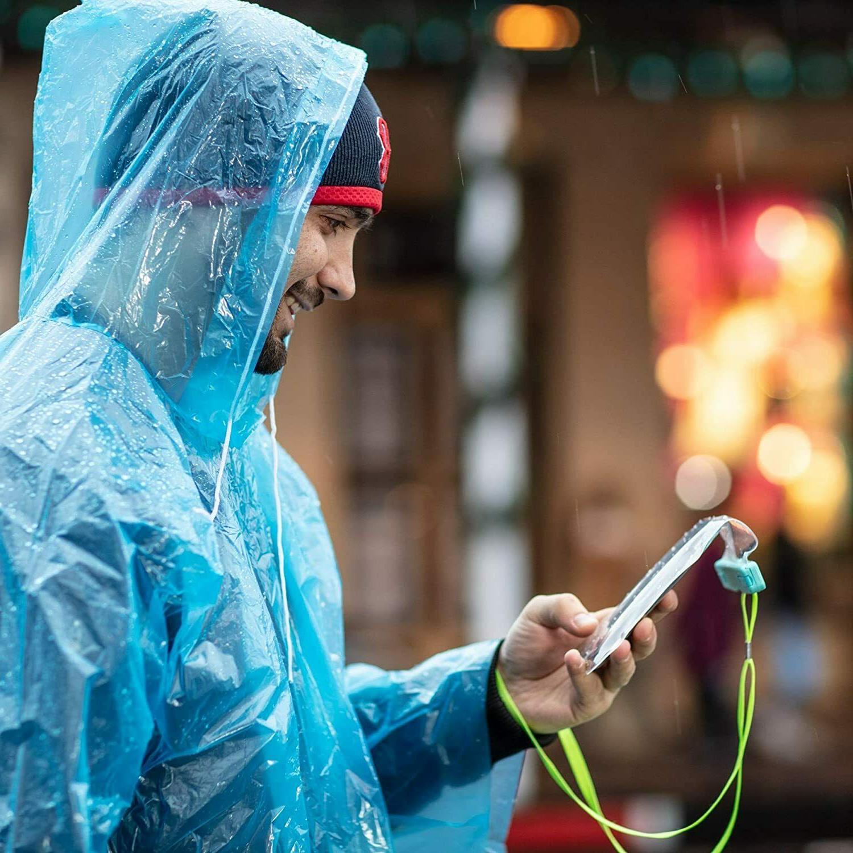 Emergency Hooded Coat Gown Waterproof