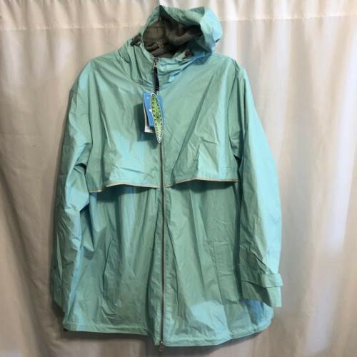 Charles Apparel New Waterproof Rain Jacket, L