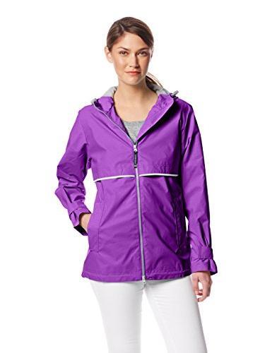 englander waterproof rain jacket violet