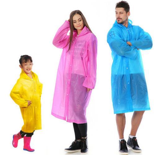 EVA Hooded Rainwear US