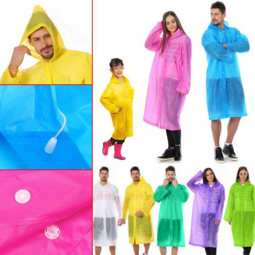 eva unisex waterproof jacket clear raincoat rain