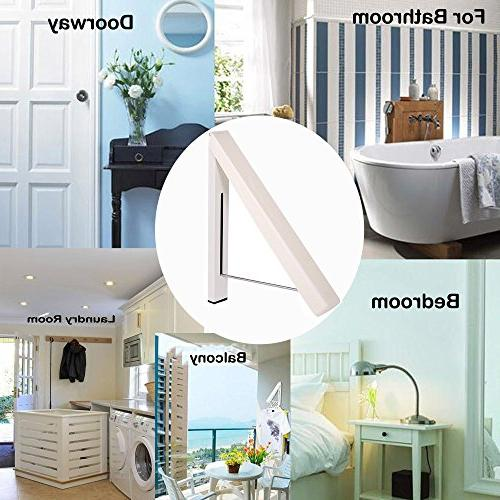 SUYUE Wall Clothes Hook Hanging System Cream