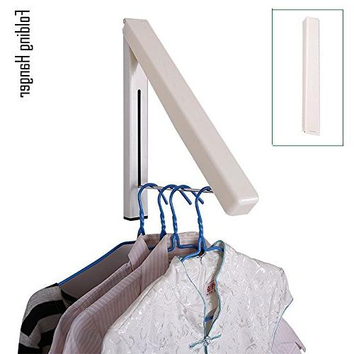 folding hanger wall mounted retractable
