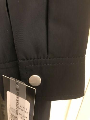 Zip Front Detachable Hood Black $265.