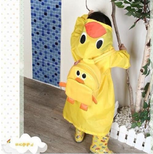 Children Cartoon Rain Kids Funny Waterproof Raincoat