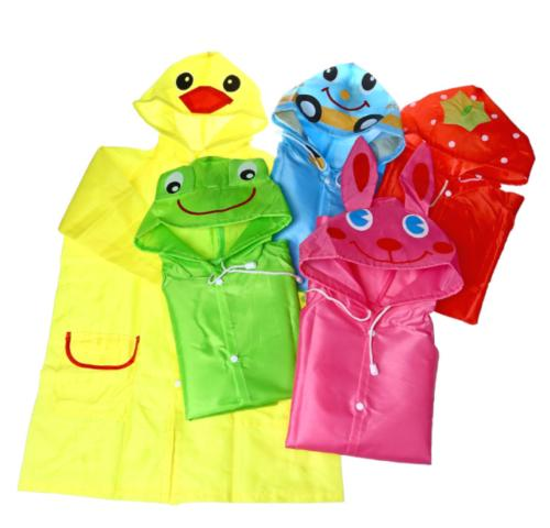 funny waterproof raincoat baby children cartoon rain