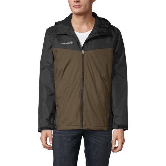 glennaker sherpa lined rain jacket waterproof black