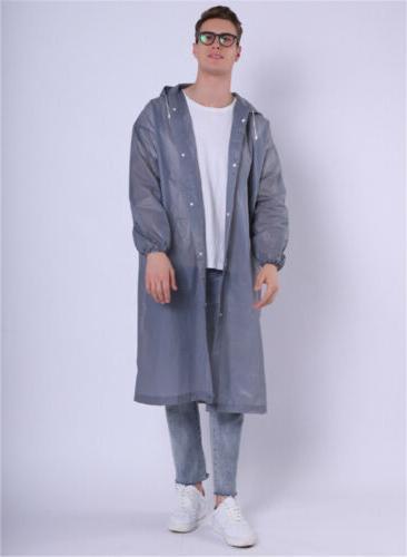 Gray Men Jacket Poncho