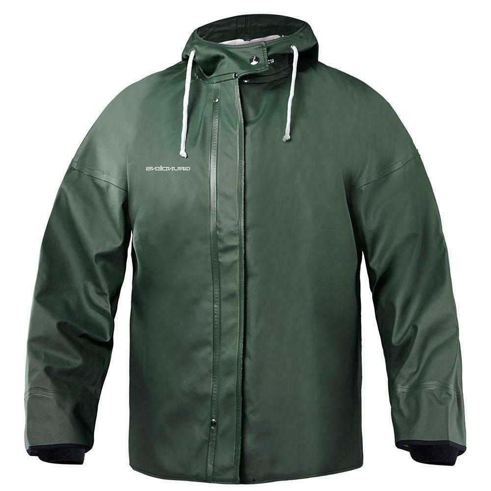 green brigg 44 hooded commercial fishing rain