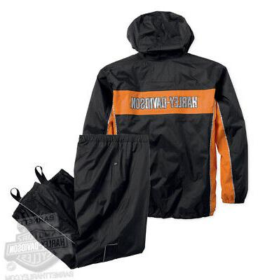 harley davidson mens generations reflective waterproof black