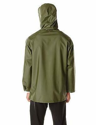 Helly Men's Mandal Waterproof Hooded Rain Jacket
