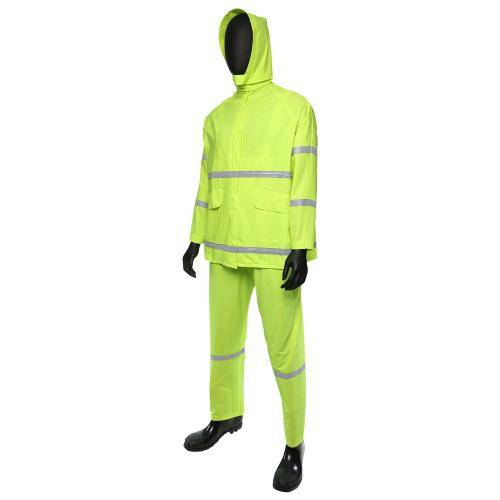 hi vis 3 piece heavy duty rainsuit