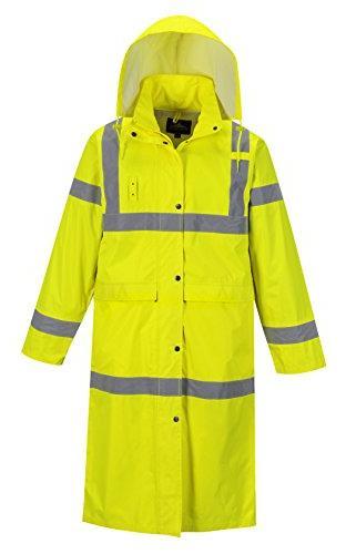 hi vis classic rain coat 48 in