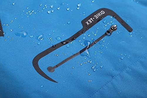 Diamond Waterproof Jacket Outdoor Women's raincoat BXL