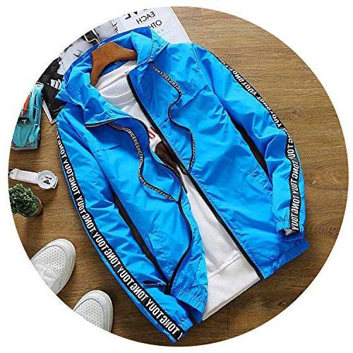 jacket hooded sunscreen jackets breaker