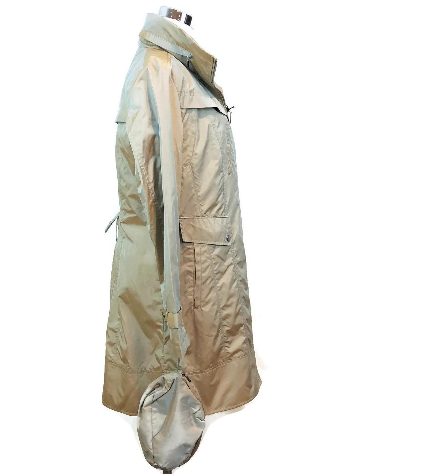 COLE Rain Coat Packable Bag NWT