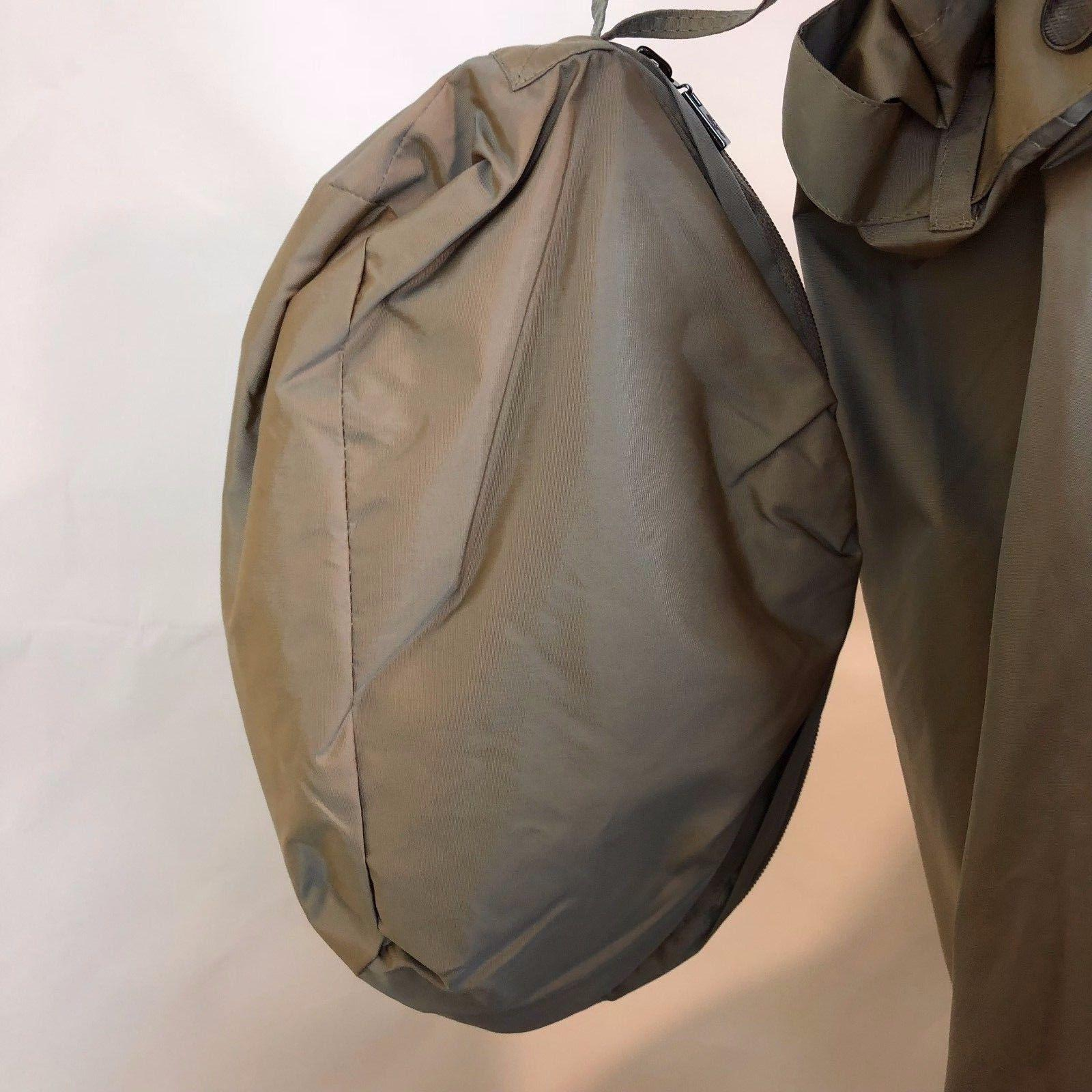 COLE HAAN Jacket Trench Rain Bag Pouch NWT M