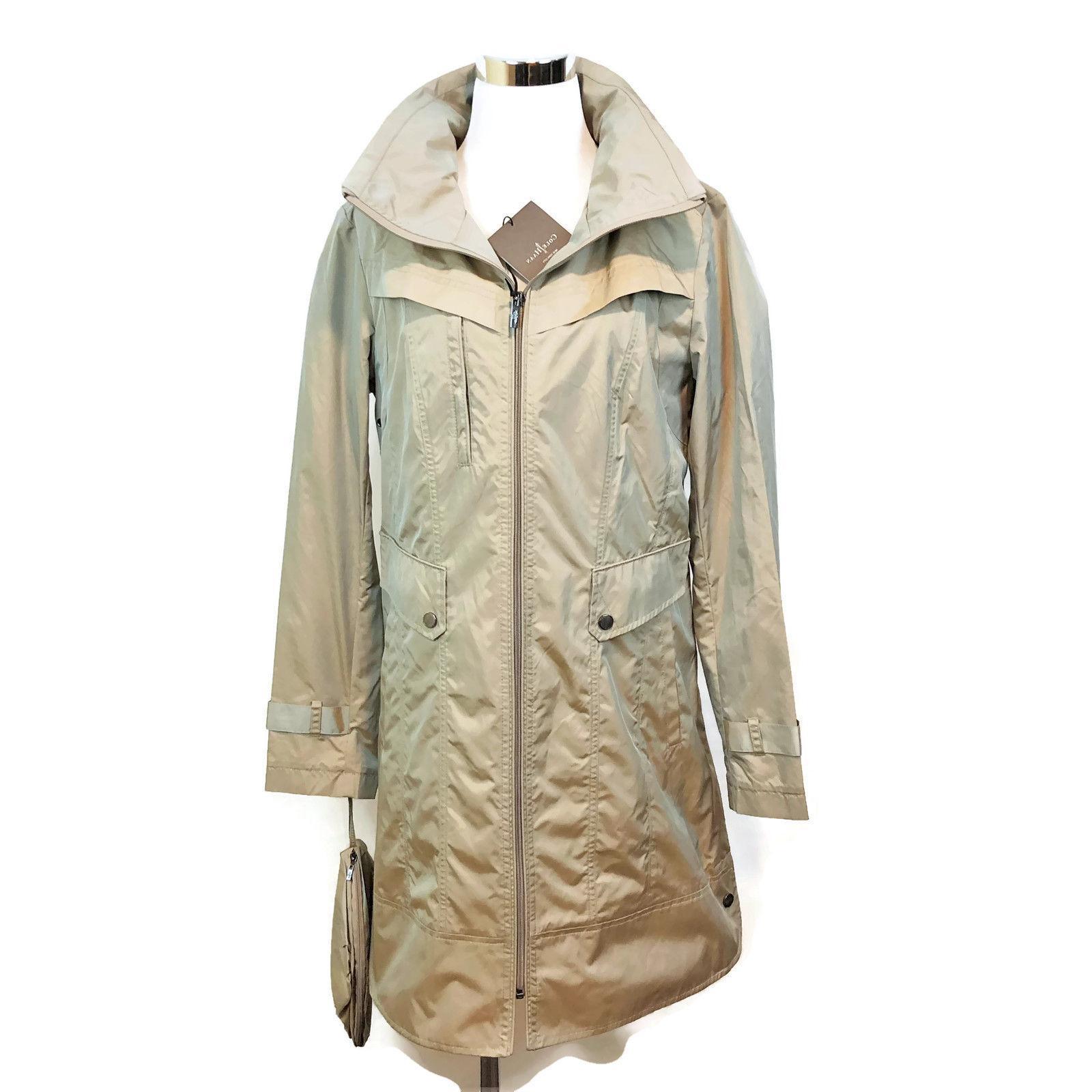 jacket trench rain coat packable travel bag