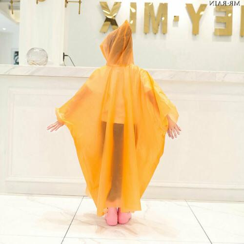 Kid Waterproof Jacket Hooded Cute Rain Coat Children Rainwear