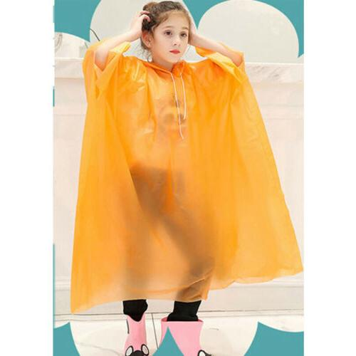 Kid Waterproof Jacket Hooded Raincoat Cute