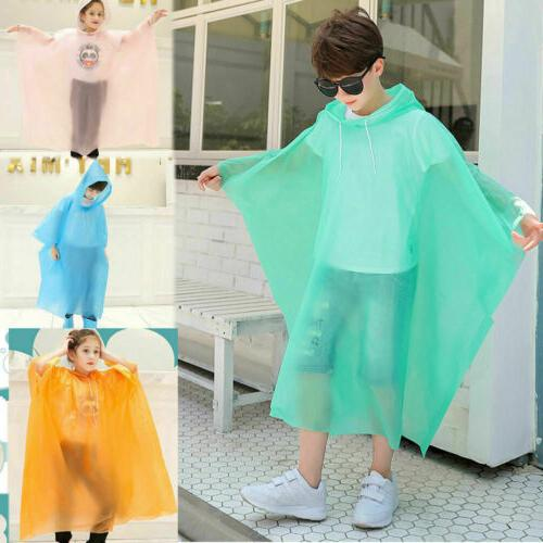 Kid Hooded Cute Coat Poncho