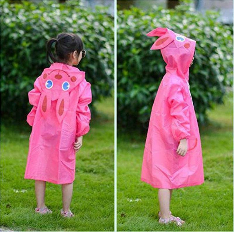 Children Kids Baby Funny Waterproof Raincoat
