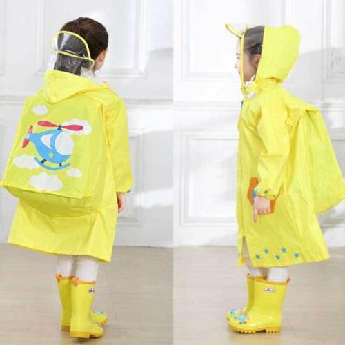 Hooded Poncho Raincoat Waterproof