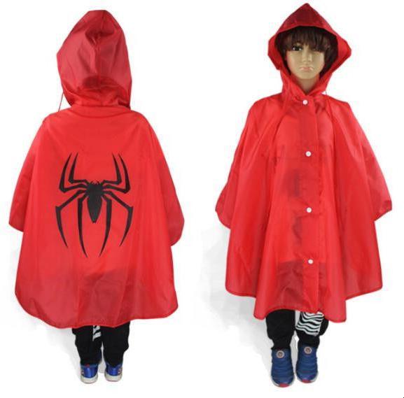 Kids Rain Coat Costume Cloak Rainsuit Outerwear