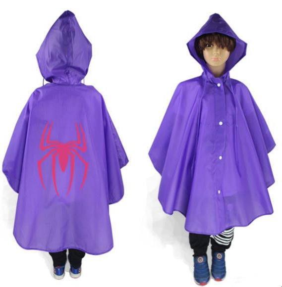 Kids Rain Coat Halloween Costume Cloak