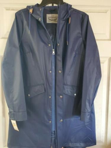 Levi Strauss Sleeve Rain Coat Size