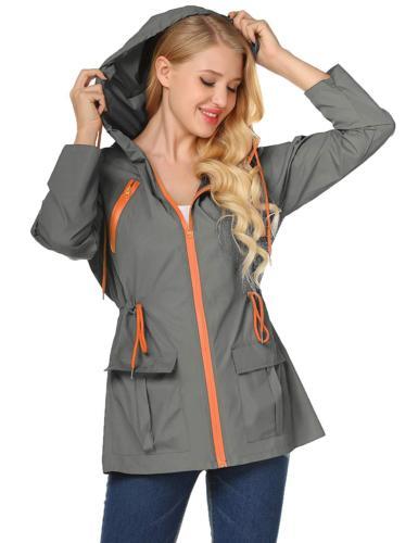 lightweight waterproof raincoat for women windbreaker packab