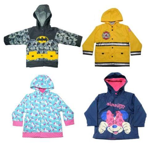 little kids theme raincoat jacket