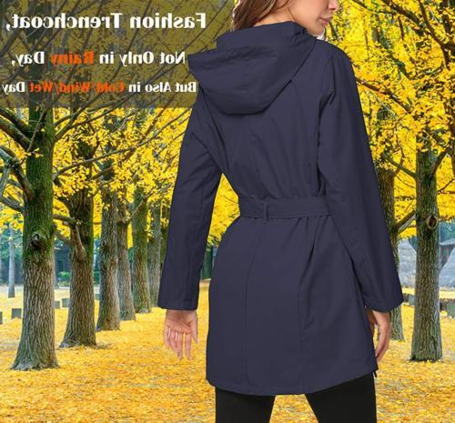 ZHENWEI Women Rain Tall Girl