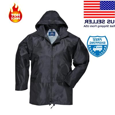 Medium  Raincoat Rain For Portwest Men Women Waterproof Jack
