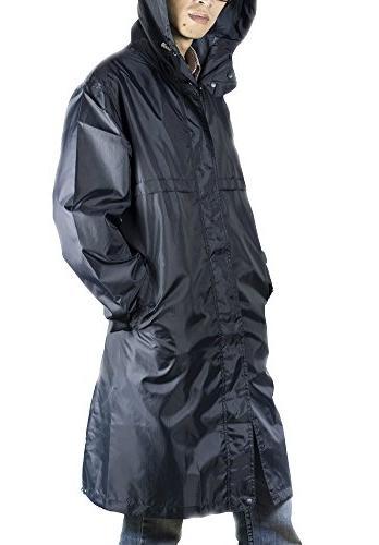 QZUnique Waterproof Jacket Poncho Hood