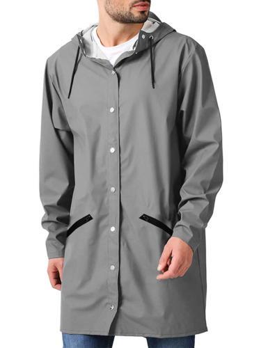 JINIDU Men's Lightweight Waterproof Rain Jacket Packable Out