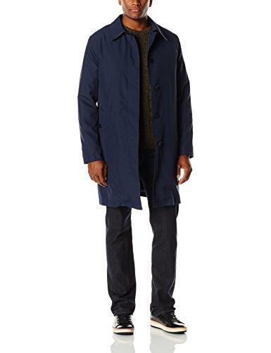 men s nylon rain coat with removable