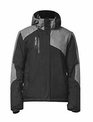 BALEAF Men's Ski Jacket Mountain Winter Snow Coat