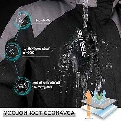 BALEAF Jacket Snow Rain J...