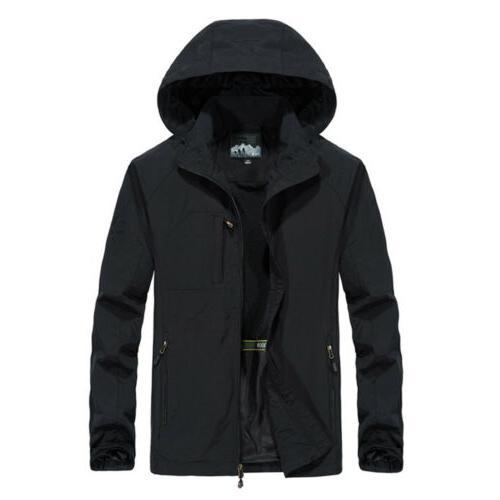 Men's Waterproof Jacket Rain Coat