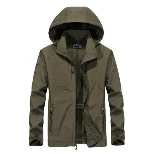 Men's Windproof Waterproof Jacket Rain Coat