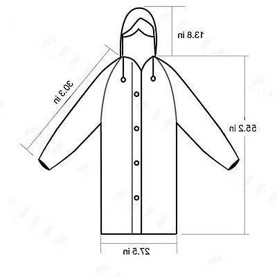 Men Women Raincoat Coat