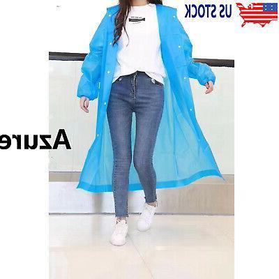 men women clear pvc raincoat rain coat