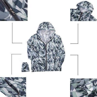 Men Women Waterproof Windproof Jacket Outdoor Bicycle Sports Coat