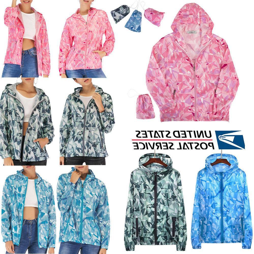 men women ladies waterproof windproof jacket outdoor