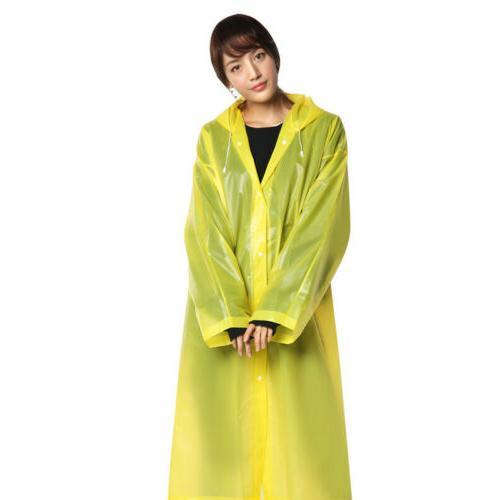 Men Women Raincoat Fashion Waterproof Rain Outdoor US